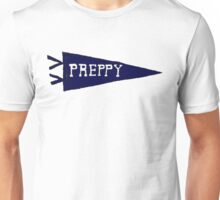 Preppy Pennant (Navy) Unisex T-Shirt