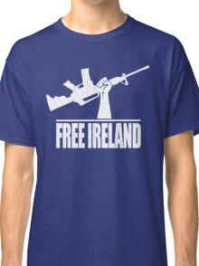 Free Ireland (Vintage Distressed Design) Classic T-Shirt