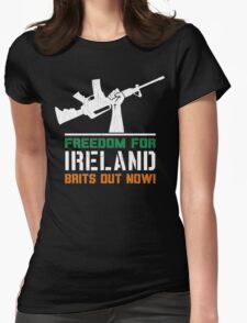 Freedom for Ireland (Vintage Distressed) Womens Fitted T-Shirt
