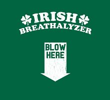 Funny Irish Breathalyzer (Vintage Distressed) Unisex T-Shirt