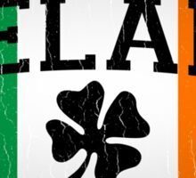 Vintage IRISH Flag (Distressed Design) Sticker