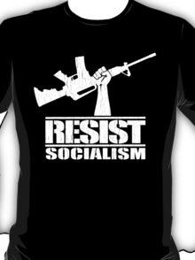 Resist Socialism (Vintage Distressed Design) T-Shirt