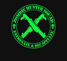 Zombie Hunting Squad (Distressed Design) Unisex T-Shirt