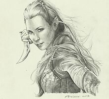 Daughter of Mirkwood by Alessia Pelonzi
