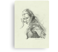Daughter of Mirkwood Canvas Print