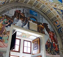 Raphael Fresco - Palace of the Vatican by roger smith