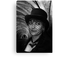 Lady Vampire at Fountains Abbey Canvas Print