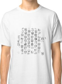 Shields of the Tomb Raider Classic T-Shirt