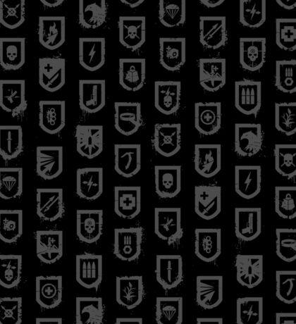 Shields of the Tomb Raider Sticker
