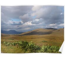 View from Knockan Crag Poster