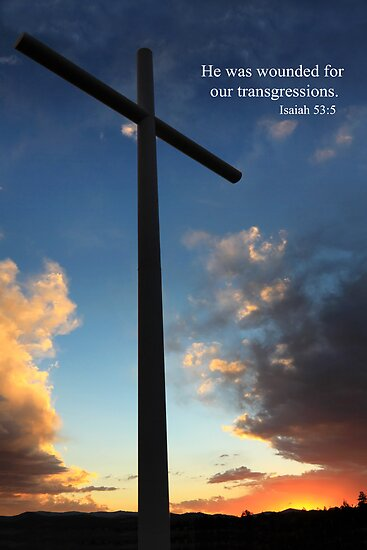 Isaiah 53:5 by James Eddy