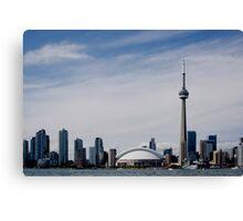 Toronto Harbour, Ontario     Canada Canvas Print
