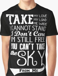 Firefly Theme song quote (white version) Graphic T-Shirt