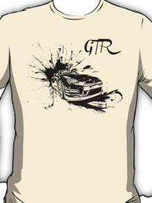 Black Nissan GTR  T-Shirt