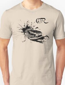 Black Nissan GTR  T-Shirt