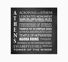 Athens Famous Landmarks Unisex T-Shirt