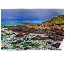 Northern Ireland. Giant's Causeway. Poster