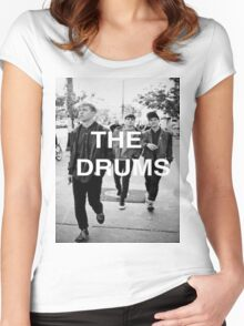The Drums Shirt Women's Fitted Scoop T-Shirt