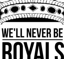 ROYALS T-Shirt Sticker