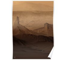 Down in Noctis Labyrinthus Poster