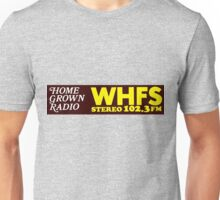 WHFS 102.3FM Alternative Radio Station Bumper Sticker Design Unisex T-Shirt