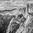 Afternoon at Half Dome by Harry H Hicklin