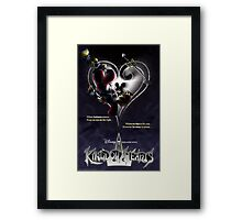Kingdom Hearts - When Darkness Comes Framed Print