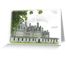 Chambord on the Loire Greeting Card