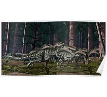 Monolophosaurus Poster