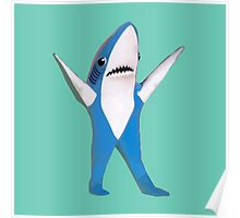 SUPER BOWL SHARK Poster
