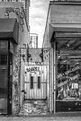 Eclectic Alley Door by Bill Wetmore