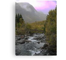 The River at Trolls Bridge Canvas Print