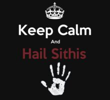 HAIL SITHIS - Skyrim T-shirt by MichaelDeSanta