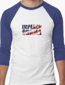 Impeach Obama Men's Baseball ¾ T-Shirt
