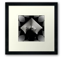Abstract Cube art photo print Framed Print