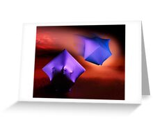 Aliens art photo print Greeting Card