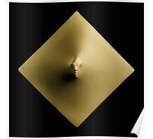 Golden Diamond art photo print Poster