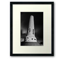 Mount Lofty Summit Obelisk Framed Print
