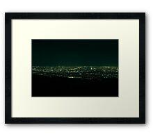 Adelaide from Mt Lofty Framed Print