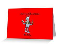 Christmas Robot Greeting Card