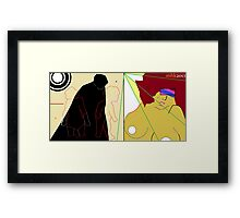 percival's dream lost in the cookie jar Framed Print