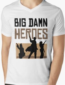 Big Damn Heroes Mens V-Neck T-Shirt