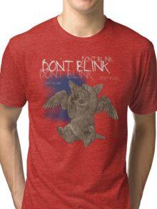 Weeping Puppy - for Dark Shirts Tri-blend T-Shirt
