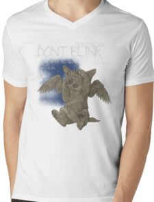 Weeping Puppy - for Dark Shirts Mens V-Neck T-Shirt