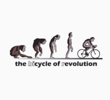 cycle of evolution / bicycle of revolution by KraPOW