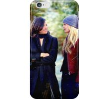 Swan Queen Winter Stroll iPhone Case/Skin
