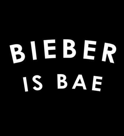 Bieber Is Bae Sticker