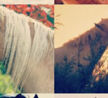 Horse lovers world  Sticker
