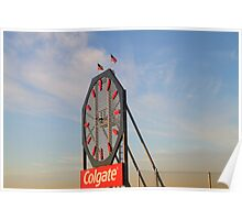 Colgate Clock Jersey City Poster