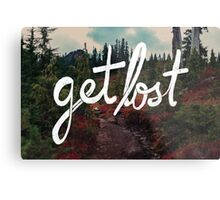Get Lost in the Pacific Northwest Metal Print